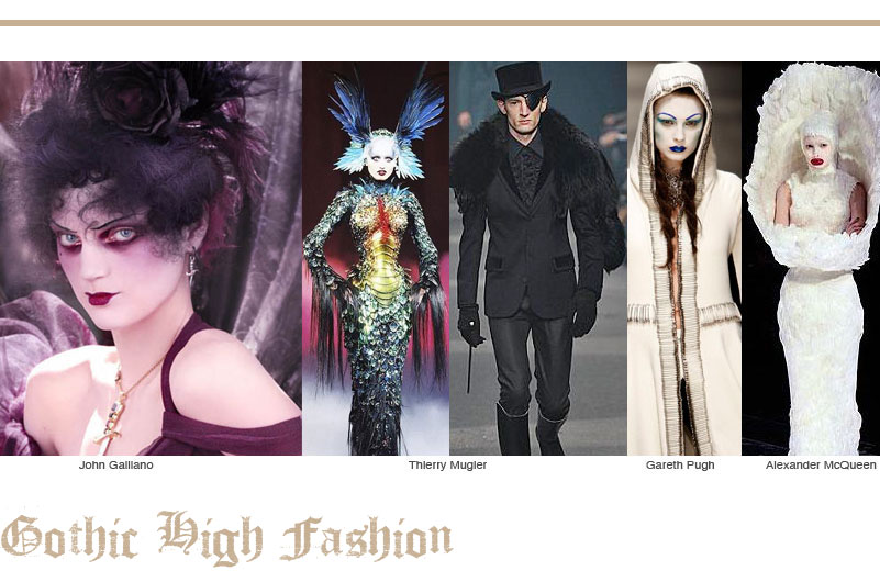 Goth High Fashion
