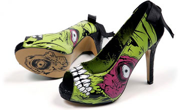 Zombie High Heel Shoes