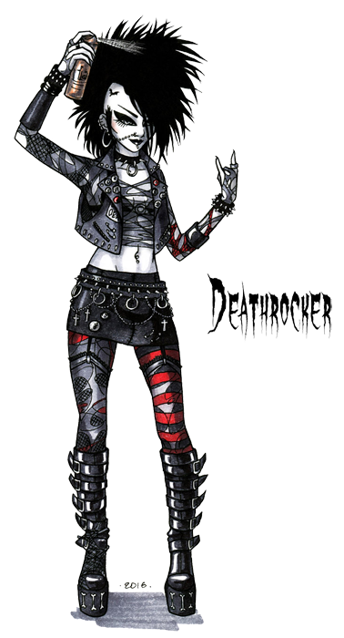 deathrocker stereotype by hellgaprotiv