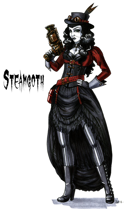steamgoth stereotype by hellgaprotiv
