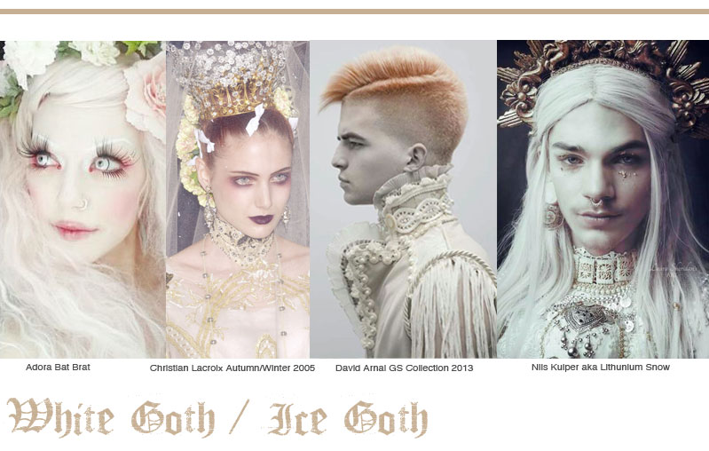 White Ice Goth Fashion